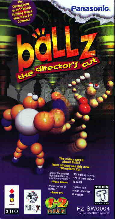 Ballz:The Director's Cut Box