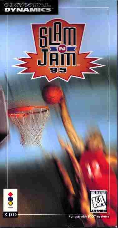 Slam 'N Jam '95 Box